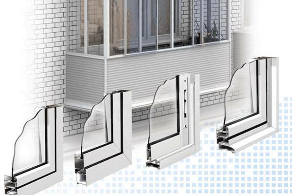 Монтаж алюминиевых окон на балконе