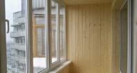 как обшить балкон деревянной вагонкой?