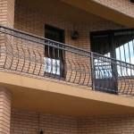 разные ограды балконов