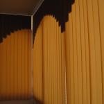 Вертикальные жалюзи на балконе