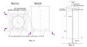 Третий этап работ установки балюстрады на балконе