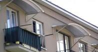 Крыша или козырек на балконе