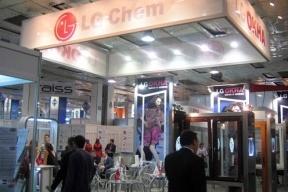 Стенд компании LG Chem на выставке