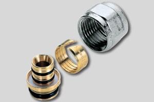 Фитинг для сборки металлопластиковых труб