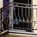 Кованая ограда для балкона