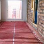 Отопление балкона электрическим полом