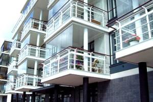 Холодное панорамное остекление балконов