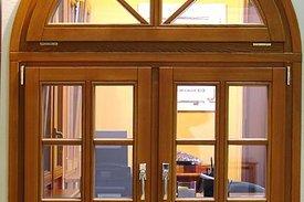 Остекление деревянными окнами от компании Строй Мастер