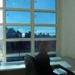 Электрохромное стекло в офисе