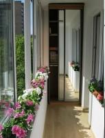 Кабинет на балконе в стиле Конструктивизм