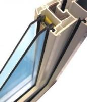 Однокамеирный стеклопакет увеличенной толщины