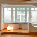 Присоединение балкона к кухне