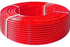 При помощи трубы из сшитого полиэтилена PEX-EVOH можно сделать теплый пол на лоджии