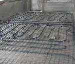 Монтаж водяного пола на балконе