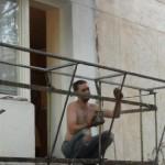 Выносное остекление балкона - работа