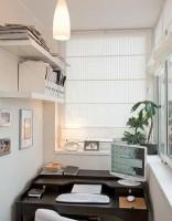 Базовая версия оформления балкона под кабинет