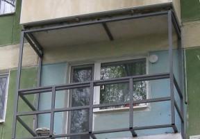 балконный каркас металлический