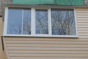 Выносное остекление балкона профилем Provedal