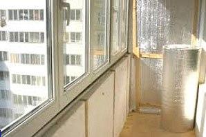 как утеплить балкон пенофолом