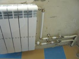 Параллелное включение двух радиаторов
