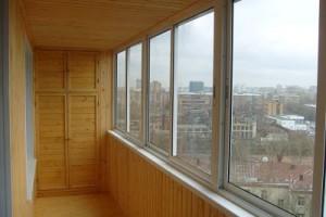 Утепление балкона вагонкой