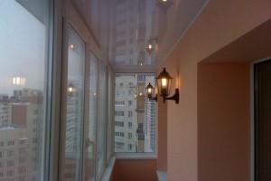 Романтика в дизайоне освещения балкона или лоджии