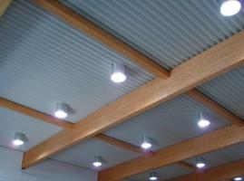 Световоды как источник освещения на балконе