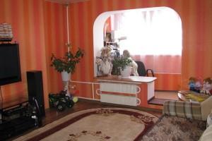 Присоединение теплого балкона к жилой комнате