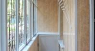 Отделка балконов и лоджий панелями