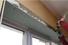 откосы окна утеплены изнутри