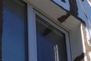 Способ утепления откосов окна пенопластом