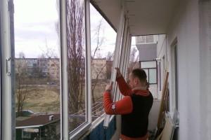 Замена холодного остекления на пластиковое окно