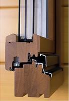Образец деревянного окна из евробруса
