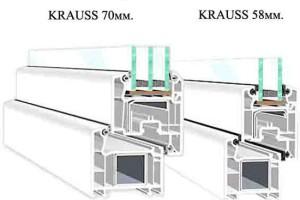 Профили ПВХ Krauss
