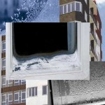 Что делать, если окно ПВХ промерзает