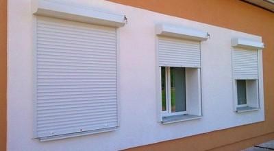 Роллеты на окна с электроприводом