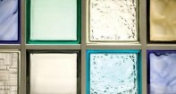 Образцы стеклянных блоков