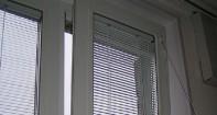 Цены на окна со встроенными жалюзи