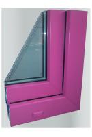 Цветной профиль пластиковых окон