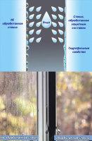 Какие достоинства у самоочищающегося стекла?