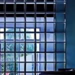 Использование стеклоблоков для оформления входной тгруппы