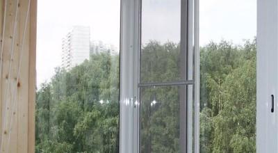 Москитная раздвижная сетка на окно