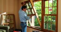Самостоятельная установка деревянных окон