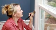 Как покрасить старое деревянное окно