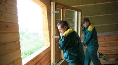 Установка деревянных окон цена
