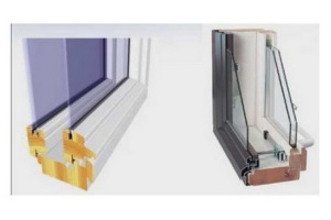 Монтаж деревянных окон со стеклопакетом