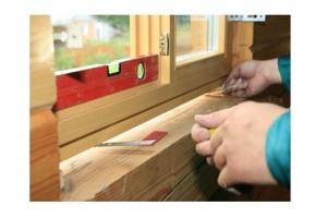 Монтаж деревянных окон по госту
