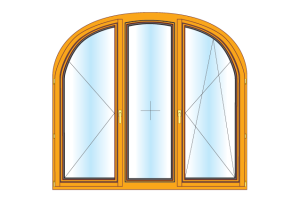 Мнения потребителей об арочных окнах из дерева