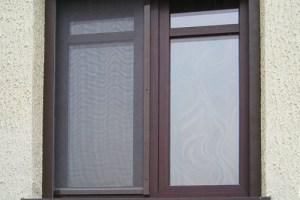 Москитная сетка на алюминиевом окне