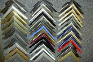 Разноцветные алюминиевые профили